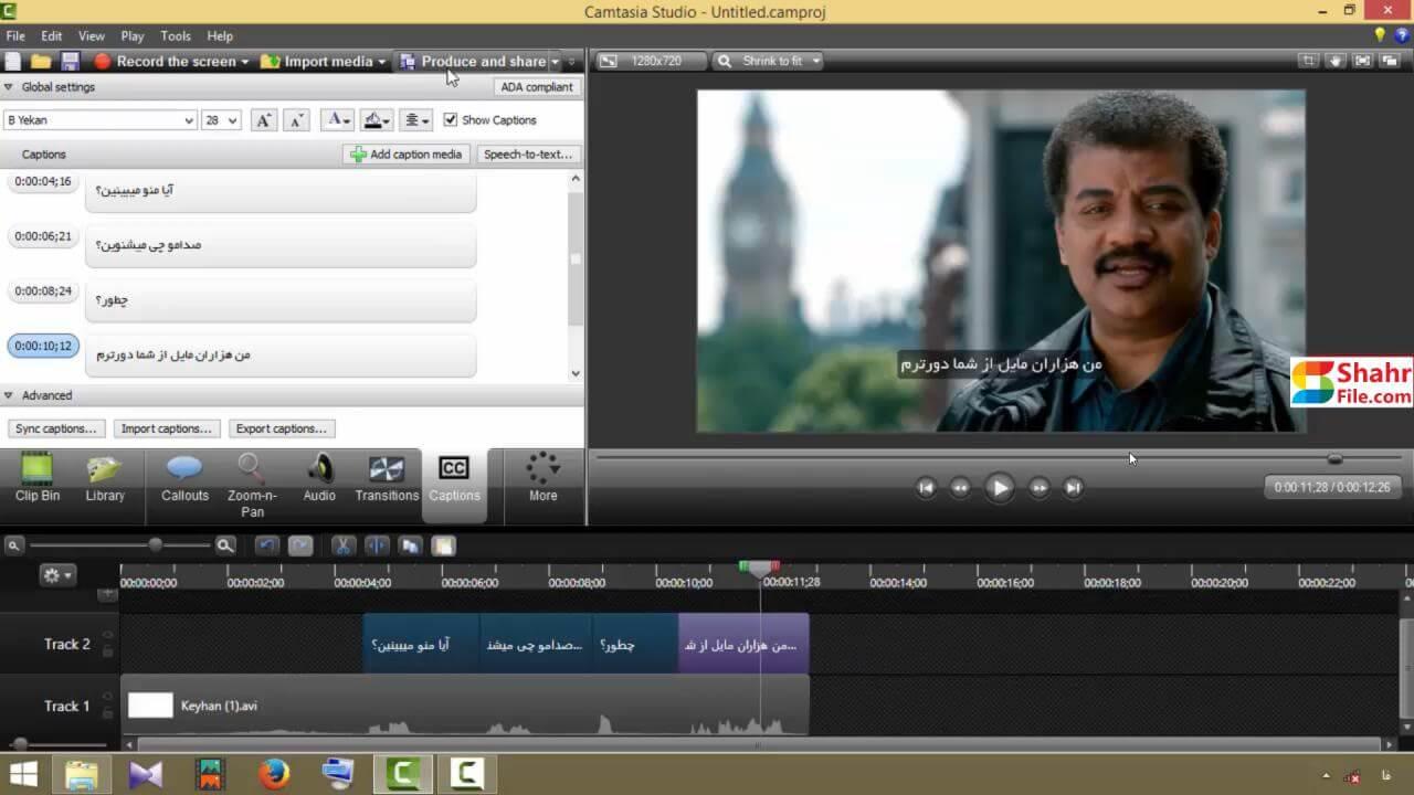 آموزش Camtasia آموزش تولید محتوا آموزش تدوین به همراه پشتیبانی (11)